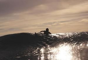 New Zealand surfing