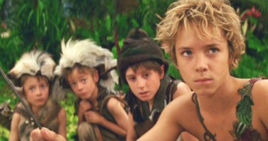 peter pan and lost boys