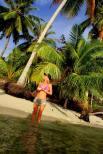girl in tropics