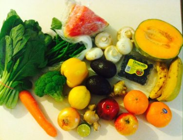 healthy fruit vegetable